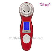 Newest Portable Home Use Ultrasonic skin Rejuvenation Ionic Photon 3MHz beauty machine for muscle tone