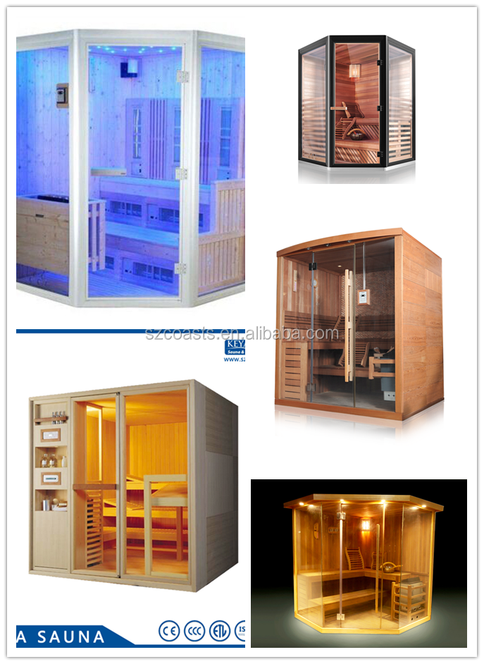 Popular indoor beauty sauna shower room with music