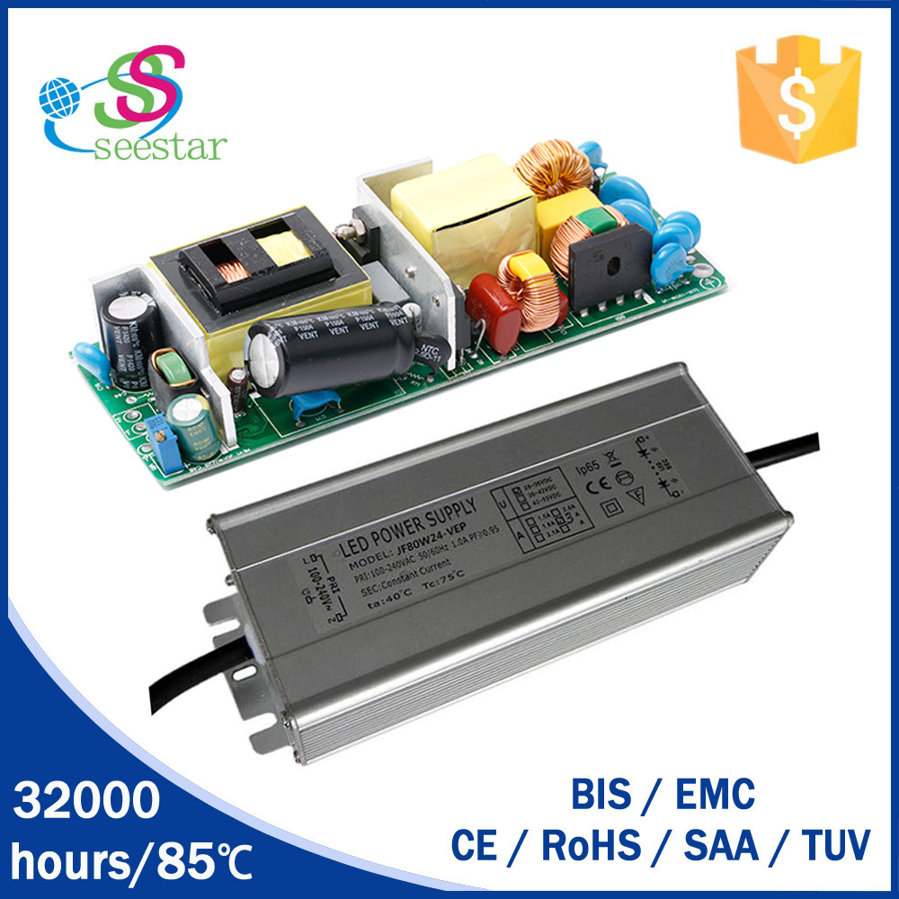 passing EMC CE waterproof ip67 switching mode power supply 100w 120w isolated led driver
