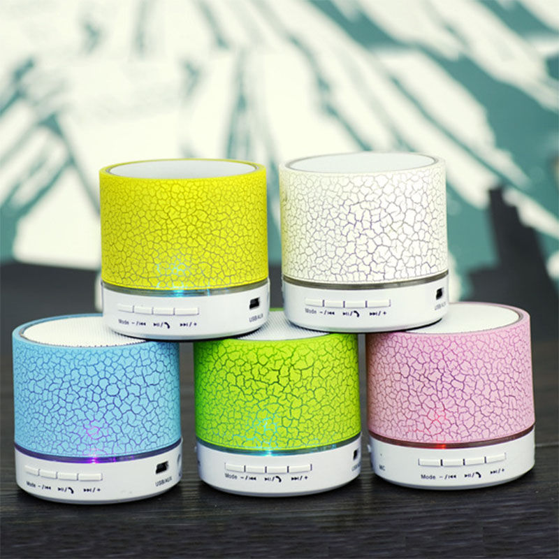 special offer smart mini <strong>speaker</strong> with LED light, Portable wireless mobile <strong>speaker</strong> for all brand phone