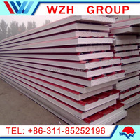 Nonmetal Panel Material and EPS Sandwich Panels Type EPS lightweight concrete wall panel from china supplier