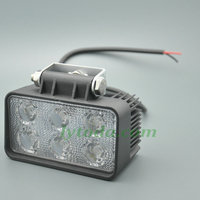 10V-30V 18W LED work light, 18W Square led work light