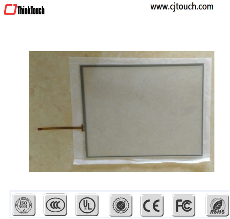 android resistive touchscreen 5 wire resistive 18.5 inch touch pressure sensor/screen in LCD VGA touch monitor