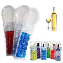 Rapid Ice Wine Cooler Beer Cooler Bag Outdoor Ice Gel Bag PVC Wine Bag