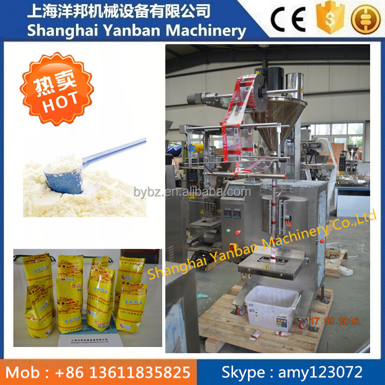 Shanghai factory price soy milk powder packing packaging machine in Shanghai manufacture