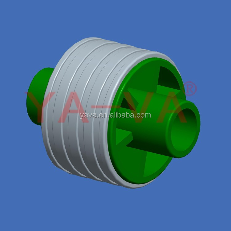 China supplier of low noise reinforced nylon rubber top chain return wheel