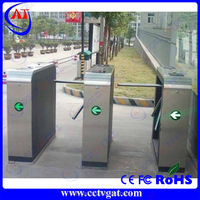 RFID Ticketing System Automatic rotate turnstile gate for pedestrian control