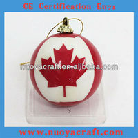 Foam Canada Flag Ball OEM Is