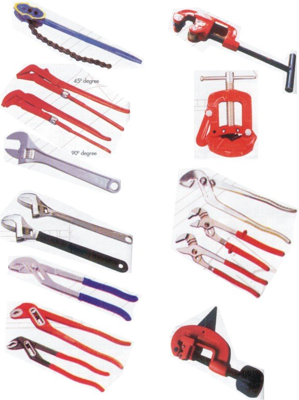 Fontanero herramientas tenazas identificaci n del producto - Herramientas de fontanero ...
