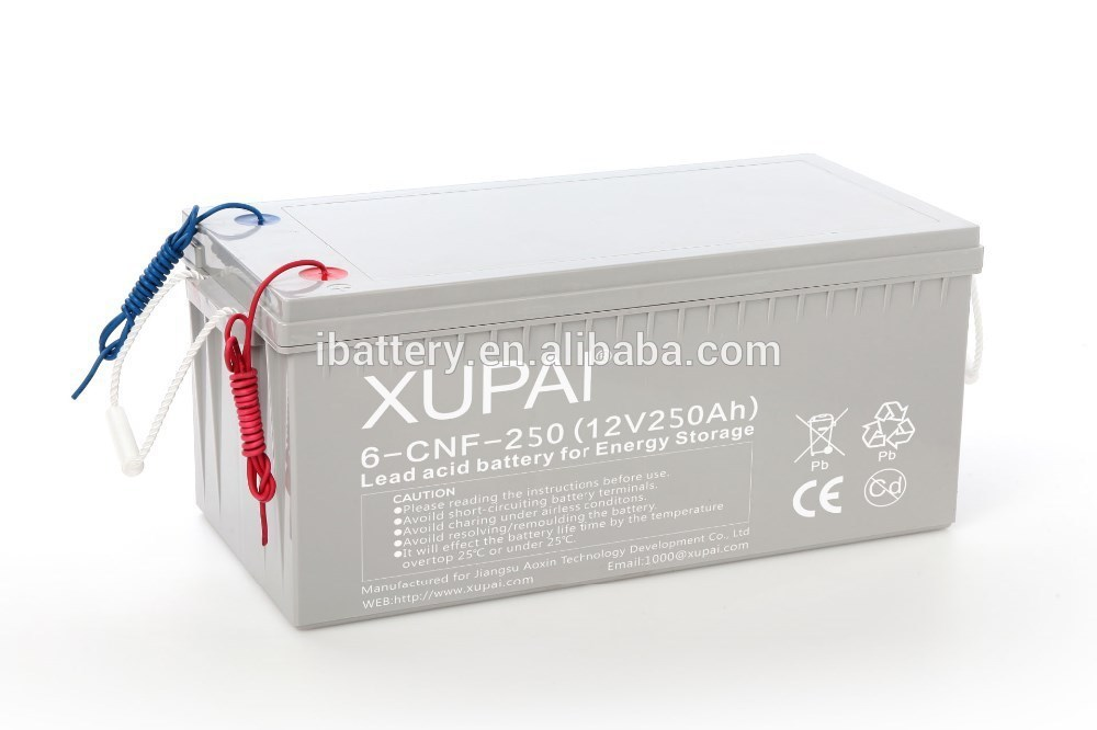 Long Life 250ah Various Capacity Deep Cycle Battery For Solar System