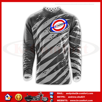 J1KC68 High quality Motorcycle accessories Motorcross racing jersey Motorcycle sport jersey Motorbike streetbike shirt for sale