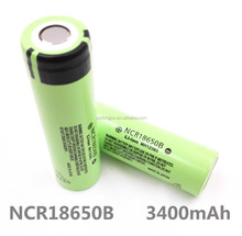 Outdoor flashlight 18650 lithium battery NCR18650B 3400mAh