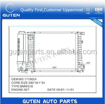 heavy equipment radiators OEM 16400-28260