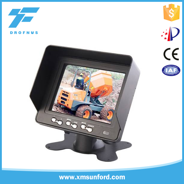 Wholesale price rear view TFT 5 inch lcd car monitor