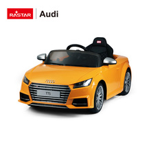 Rastar fancy AUDI TTS 2.4G parental controlled girls electric ride on car 12 v