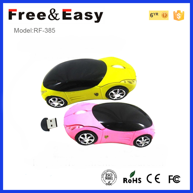 new style cute car shape tiny laptop mouse