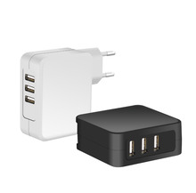 New Brand 3 usb port 5V 7.2A multiple usb Wall Charger for phone