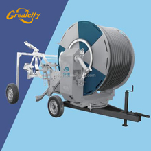 Water reel irrigation machine / Mobile farm spray irrigation sprinkler