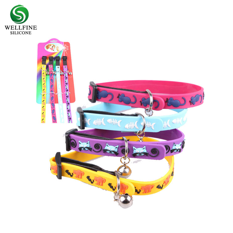 Anti Fleas Mosquito Safety Protection Silicone Dog Collar