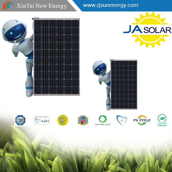 JA SOLAR PANEL Factory Directly sells with full certificate mono 250w 255w 260w 265w 270w PV MODULE