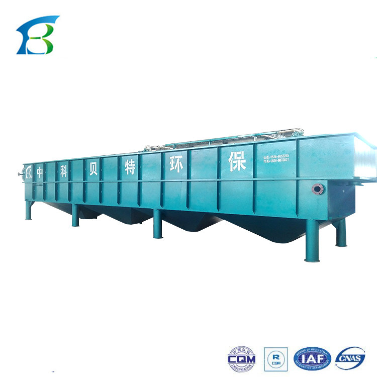 flotation unit (DAF) for slaughtering factory waste water treatment, 3-300cbm/h different capacity