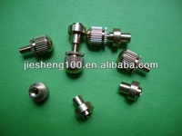 brass chicago screw for Injection molding production