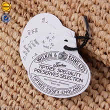 Sinicline bottle neck hang tag with elastic string wholesale