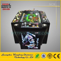 Two heads shark fishing season game machine/ ocean king 2 video game fishing console