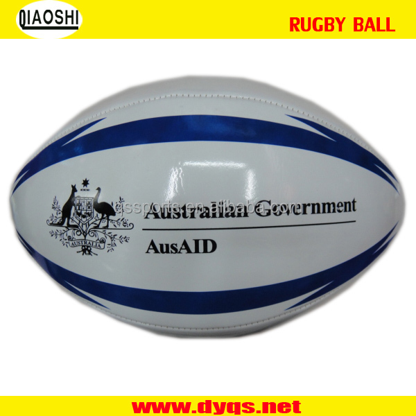 cheap price PU custom rugby ball