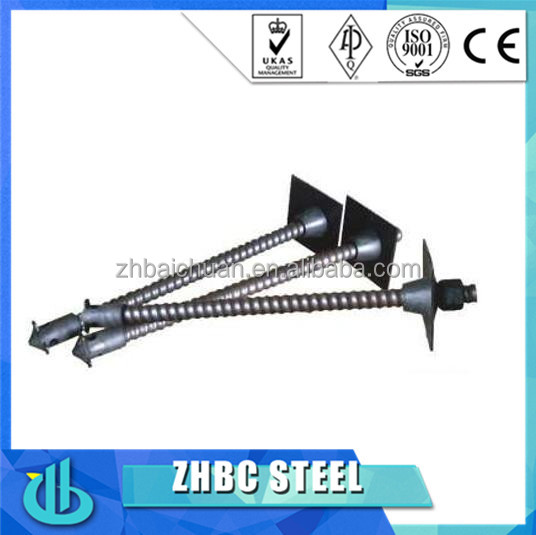 R38n Steel Reinforcement Hollow Grouted Rock Anchor Bolt/Hollow bar