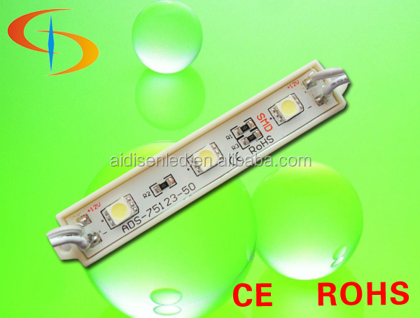 outdoor waterproof smd led module 5050 for illuminated sign 12v