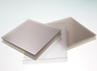XINHAI plastic pc honeycomb sheet in china/6mm-18mm plastic sheet,multiwall polycarbonate sheet,honeycomb