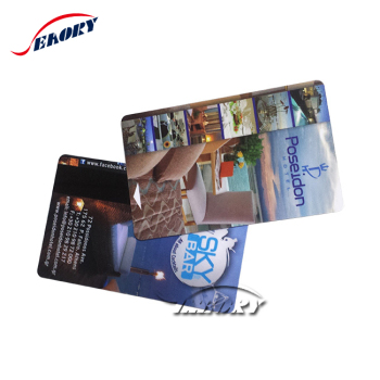 Security Dual Interface Facebook ID Card Contact&Contactless Smart RFID Card