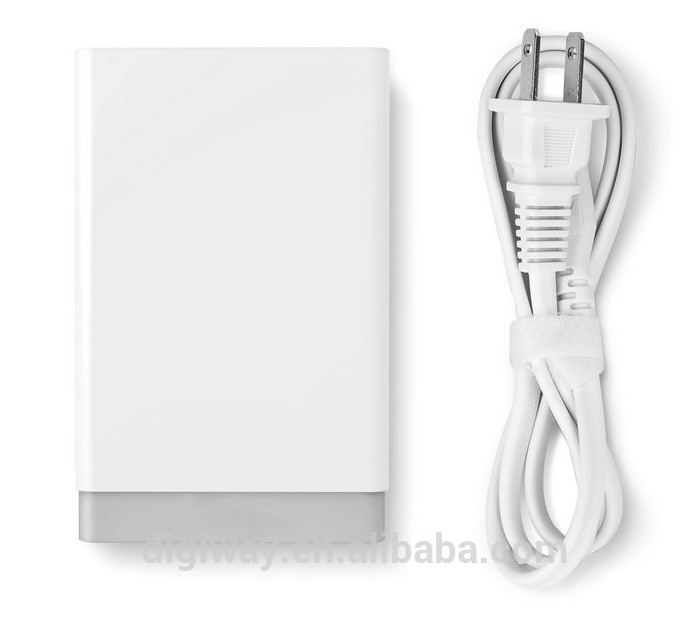 5 USB port long line wall charger for AU/EU/US/UK phone