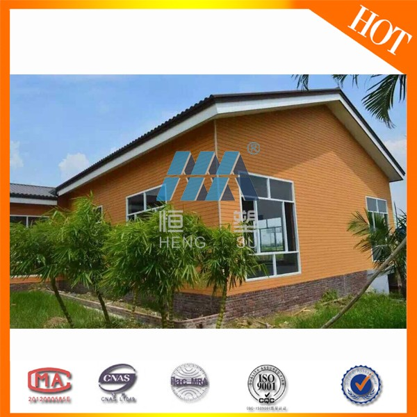 ISO proved Wood plastic composite Outdoor Wall Paneling