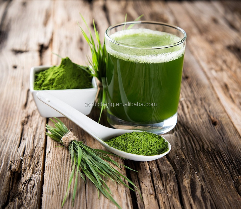 EU Organic Certified Organic Barley Grass Powder Barley Grass Juice Powder