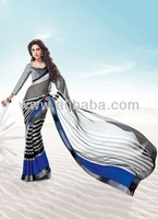 Bollywood Style Satin Fashion Sarees from latest movies collection