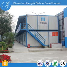 Steel Dog Roof Sandwich Panel Luxury Container House