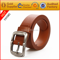 High quality PU leather belt for men china supplier