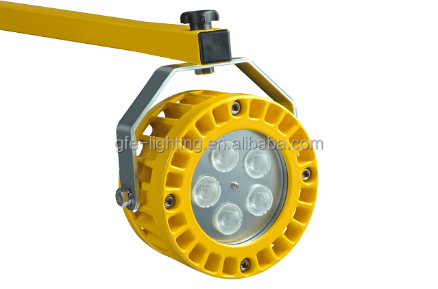 IP67 waterproof 30w loading dock lights with double struct arms