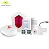 OEM/ODM Cheap wireless gsm alarm system,freely silk print on panel and package for large quantity