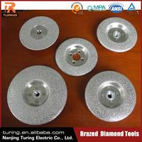 China Professional Diamond Tool Manufacturer High Efficiency Diamond V-Shape Grinding Wheel