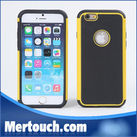 Football skin back cover case for iphone 6 plus hard PC + TPU combo mobile phone case hot sale