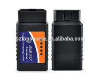 New Arrived Mini ELM327 New ELM327 V2.1 OBD2 II Bluetooth Diagnostic Car Auto Interface Scanner