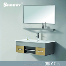 Furniture from china with price plastic bathroom mirror cabinet