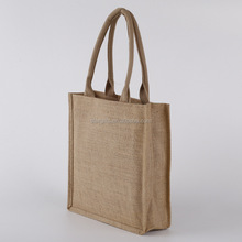 China Suppliers Wholesale Promotional Jute /Hemp Shopping Tote Bag
