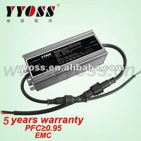 Constant Voltage 12V or 24V Waterproof LED Driver 60W for panel light power