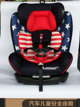 Group 0+1+2 +3 baby car seat with 5 point safety belt,large space
