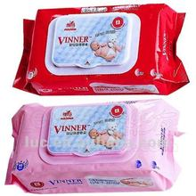 70pcs organic alcohol free baby wipe tissue