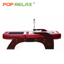 Half body rolling thermal therapy jade electric massage bed
